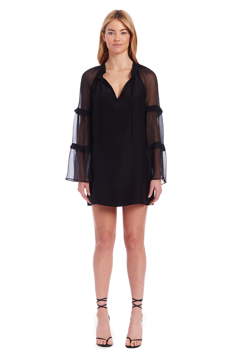 Amanda Uprichard Greta Dress - Black | Women's Dresses