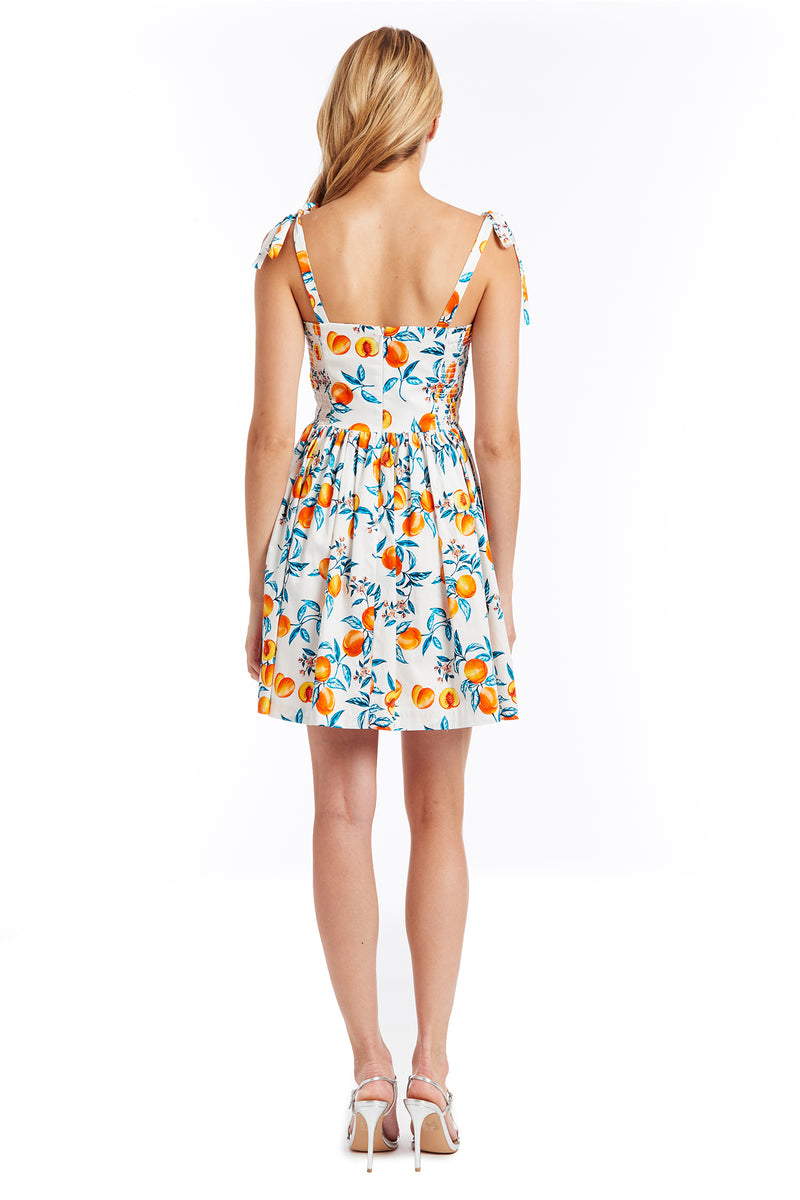 Amanda Uprichard Harmony Dress - Peaches | Women's Dresses
