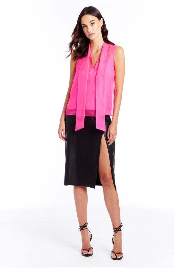 Imelda Top - Hot Pink | Women's Tops | Amanda Uprichard