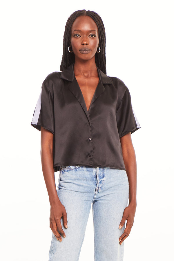 Jaelyn Silk Top