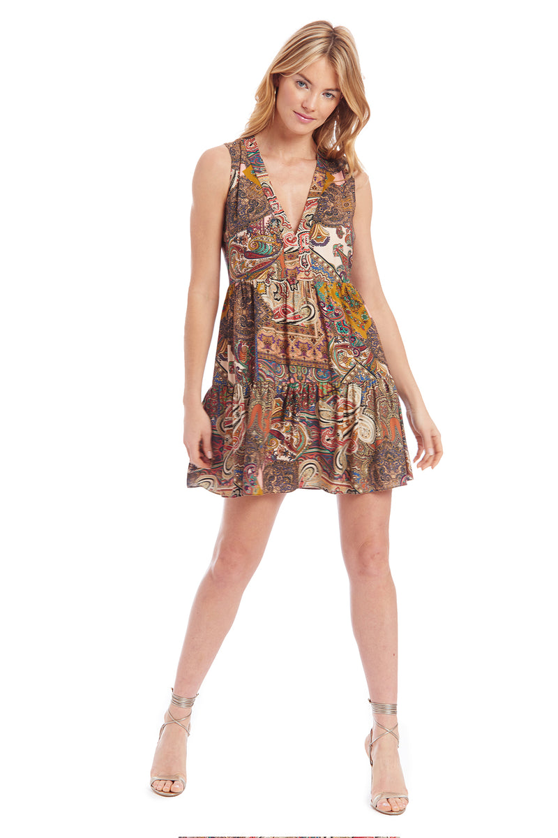 Amanda Uprichard Jeanne Dress -Paisley | Women's Dresses