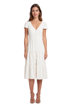 Amanda Uprichard Joyce Dress - Ivory | Women's Dresses