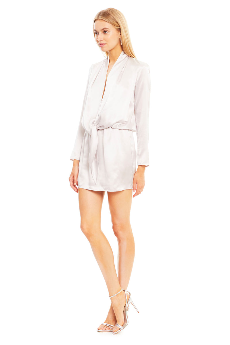 Laurie Silk Mini Dress