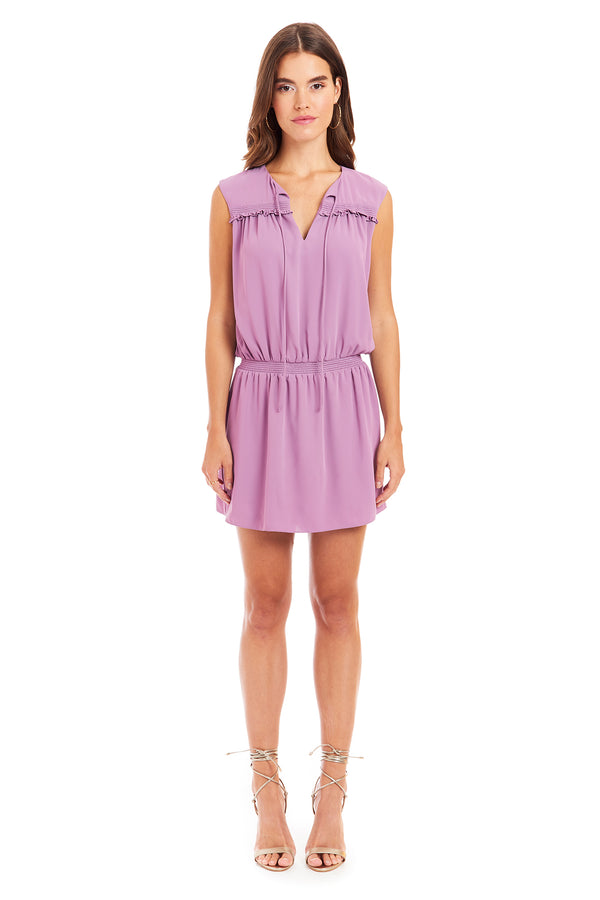 Amanda Uprichard Layla Dress - Lavender | Women's Dresses