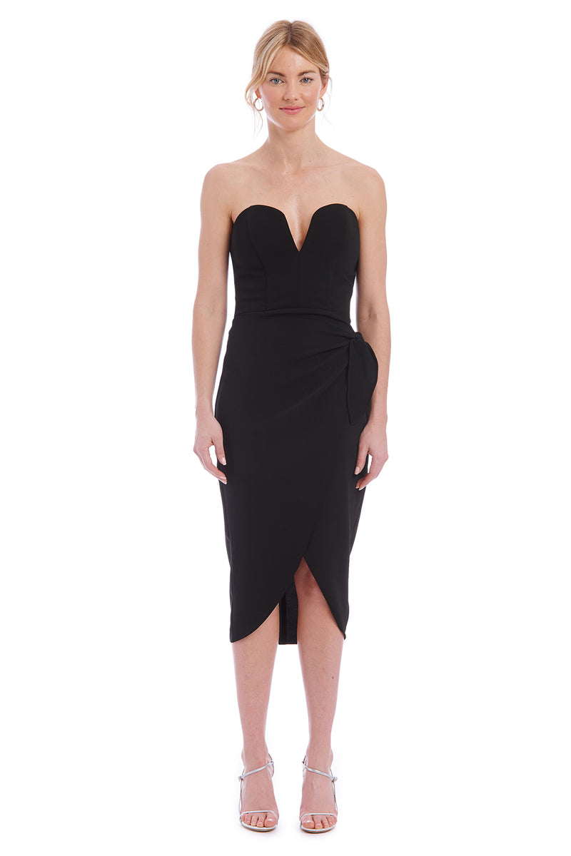 Amanda Uprichard Leticia Dress - Black | Women's Dresses