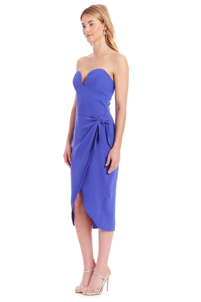 Amanda Uprichard Leticia Dress - Blue | Women's Dresses