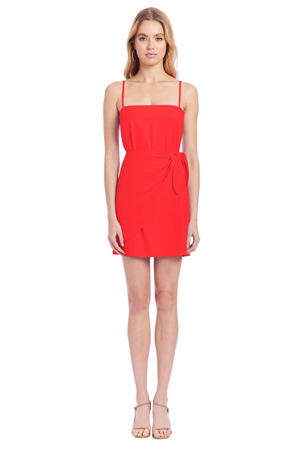 Amanda Uprichard Stella Dress - Red | Women's Dresses
