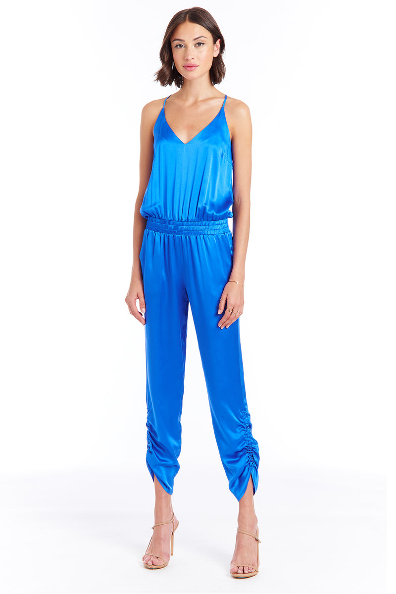 Lowell Jumpsuit in Silk