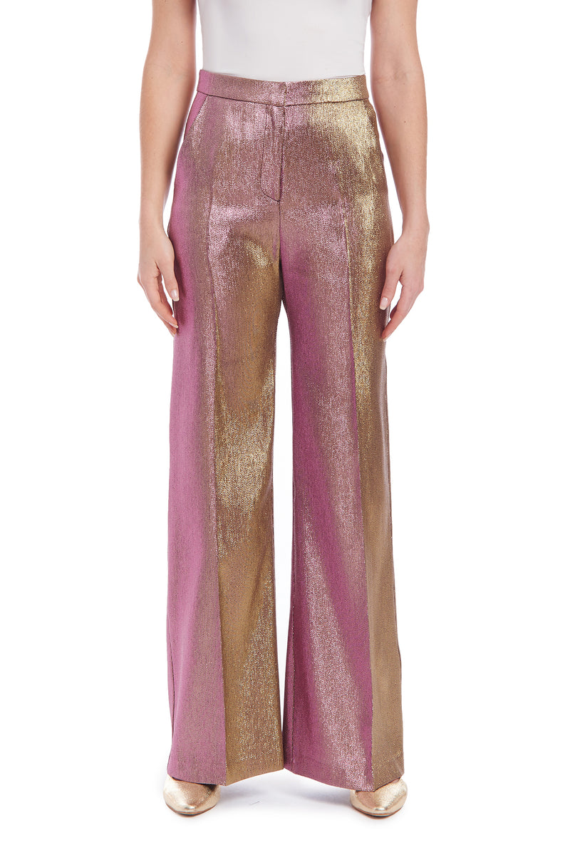 Amanda Uprichard Lucette Pants - Metallic Multi | Women's Pants