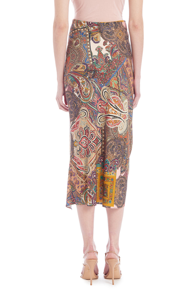 Amanda Uprichard Ludlow Skirt -Paisley | Women's Skirts