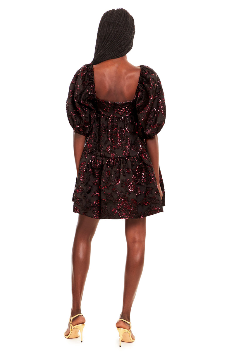 Amanda Uprichard Maisie Dress - Black Multi | Women's Dresses