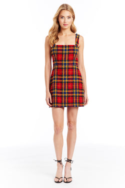 Amanda Uprichard Makenna Dress - Scotland Check | Women's Dresses