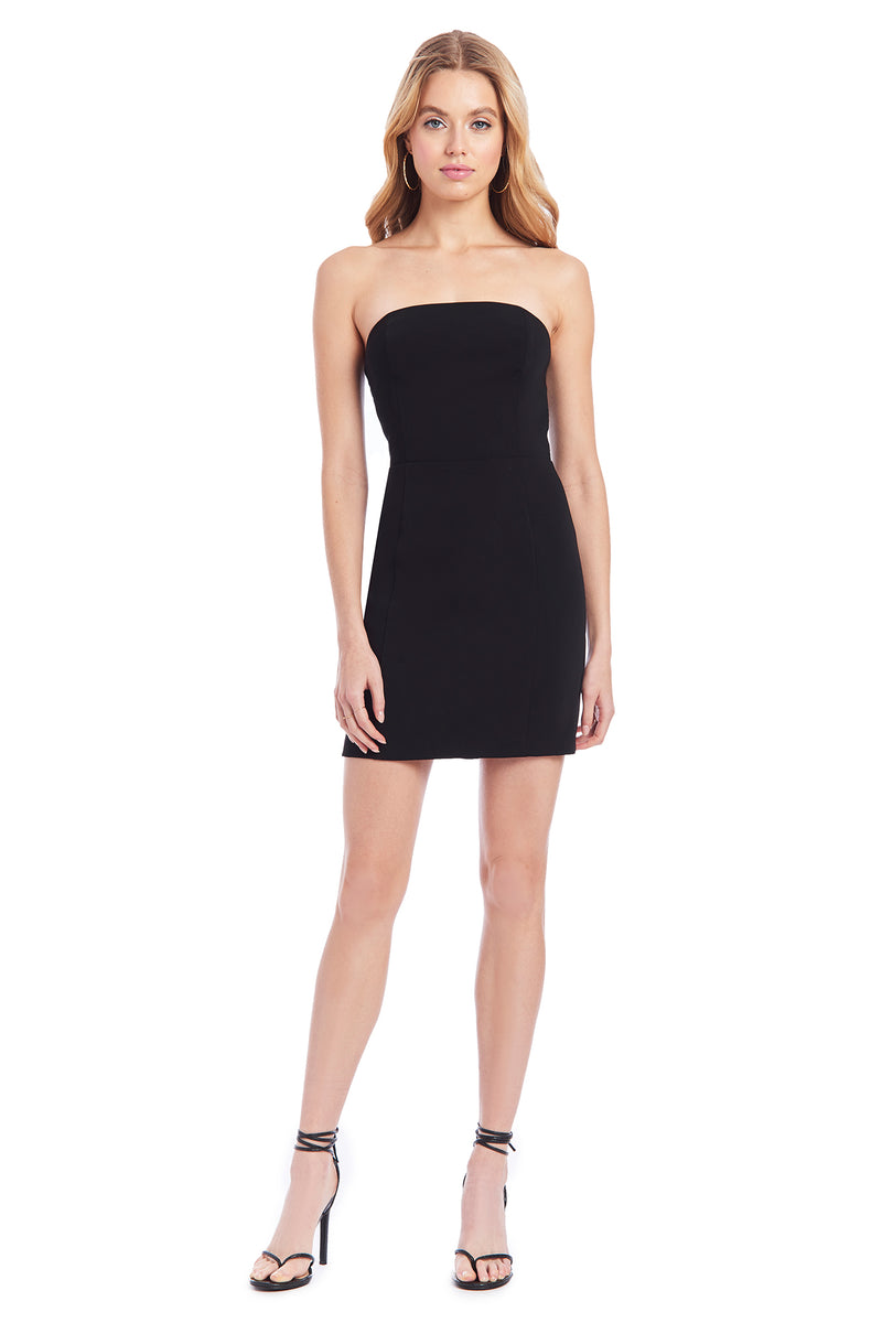 Amanda Uprichard Mandy Dress - Black | Women's Dresses