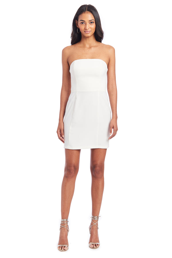 Amanda Uprichard Mandy Dress - Ivory | Women's Dresses