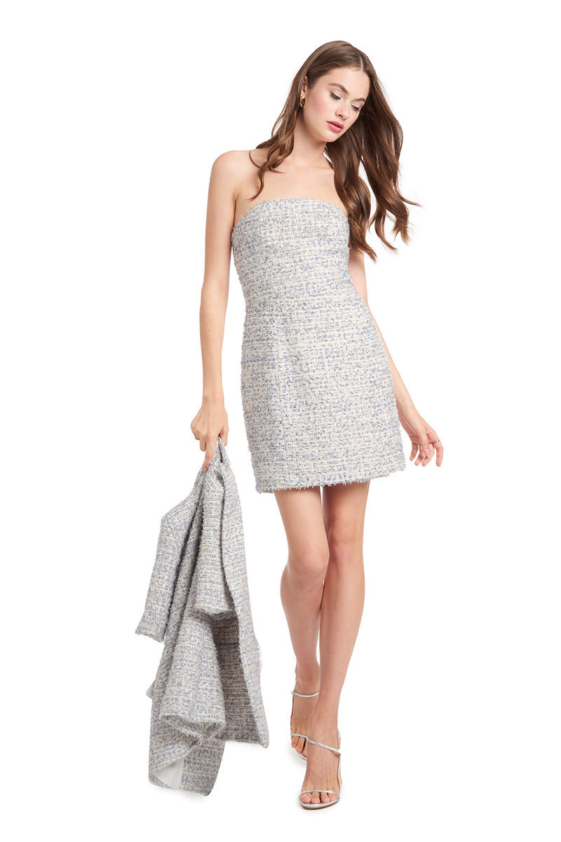 Amanda Uprichard Mandy Dress - Tweed | Women's Dresses