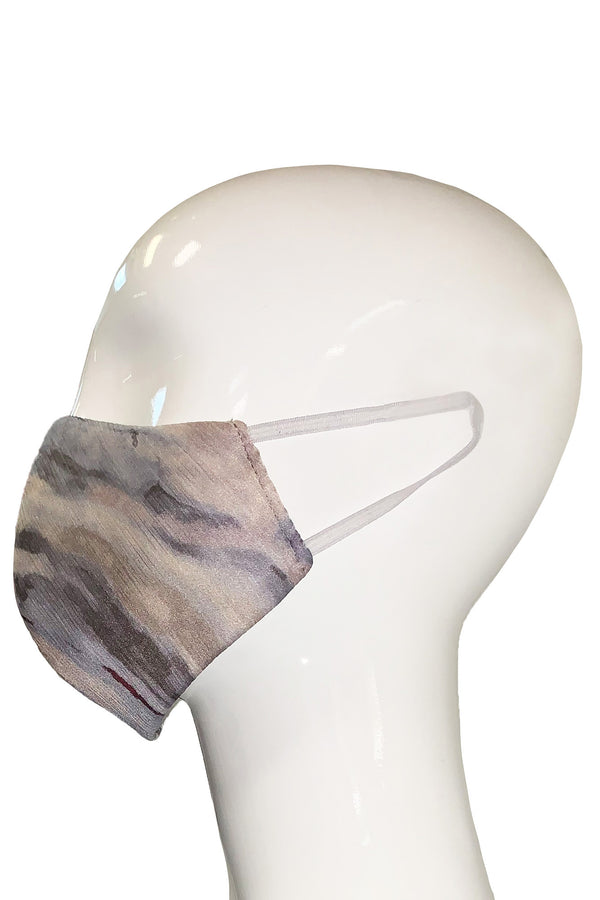 Fashion Face Mask - Marble