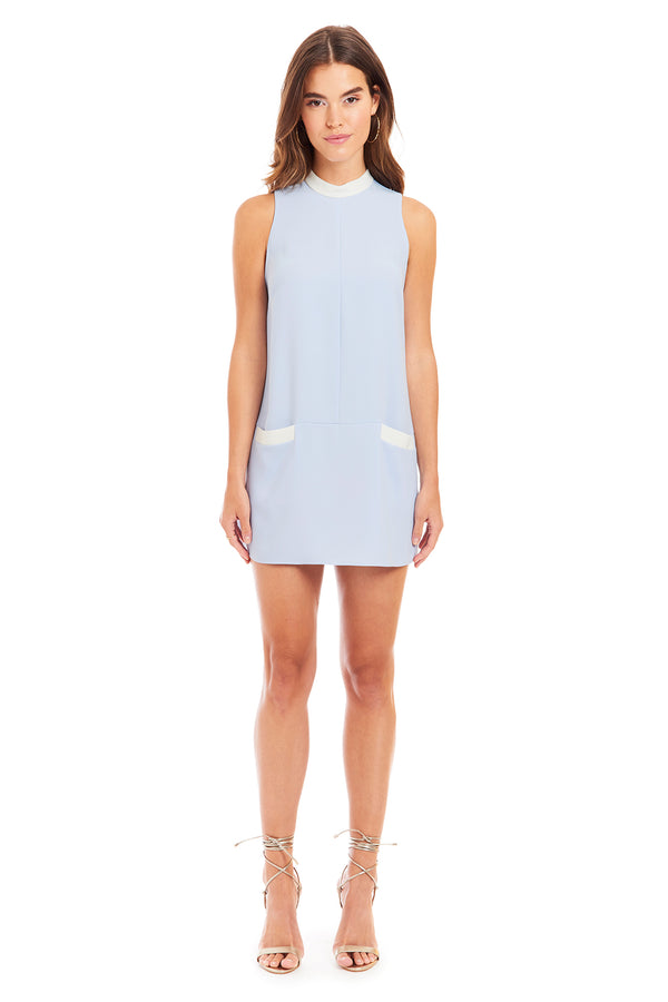 Amanda Uprichard Mayer Dress - Blue | Women's Dresses