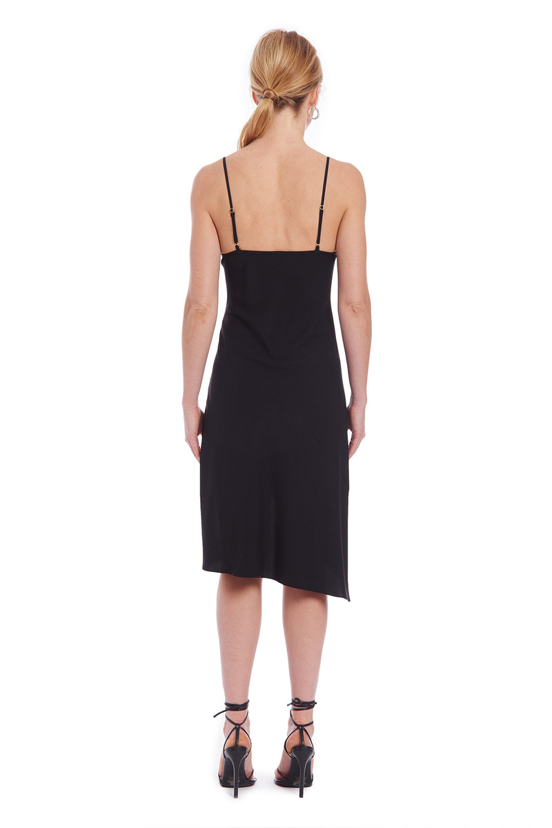 Amanda Uprichard Melissandra Dress - Black | Women's Dresses