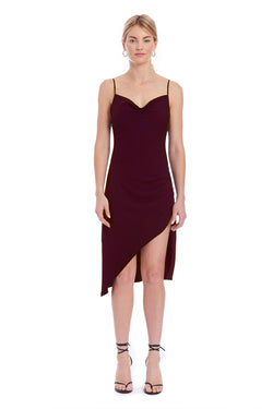 Amanda Uprichard Melissandra Dress - Wine | Women's Dresses