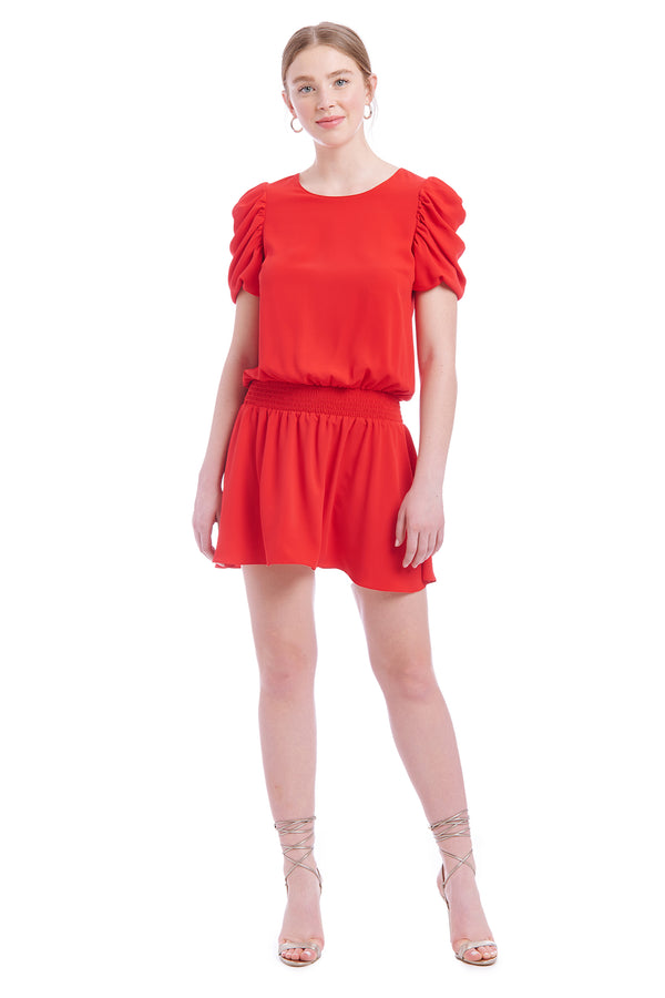 Amanda Uprichard Merris Dress - Red | Women's Dresses