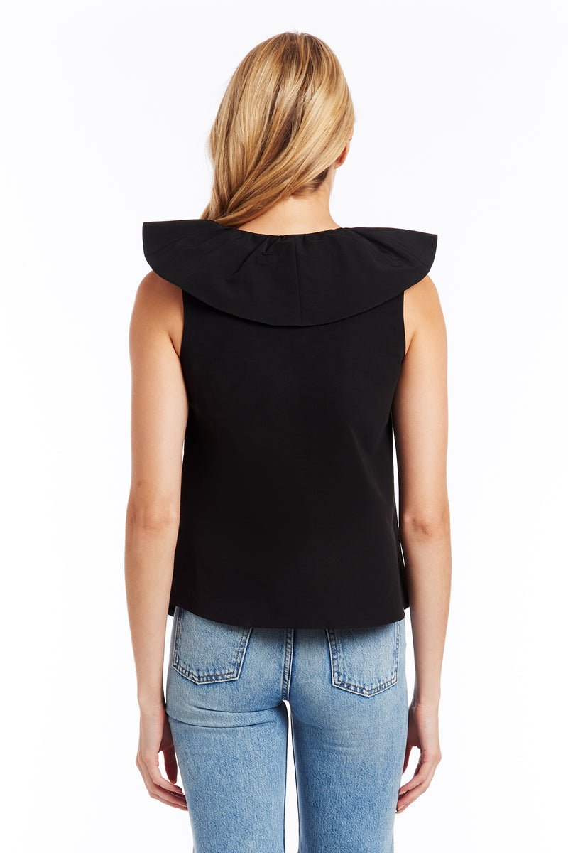 Amanda Uprichard Mireya Top - Black | Women's Tops