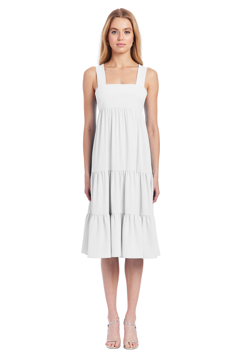 Amanda Uprichard Mitzi Dress- Ivory | Women's Dresses
