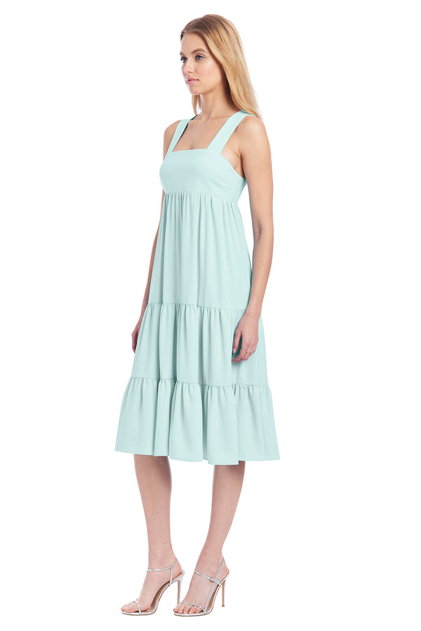 Amanda Uprichard Mitzi Dress - Blue/Green | Women's Dresses