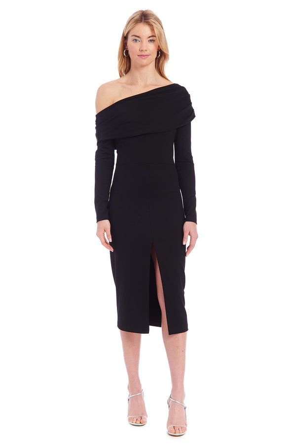 Amanda Uprichard Nelle Dress - Black | Women's Dresses