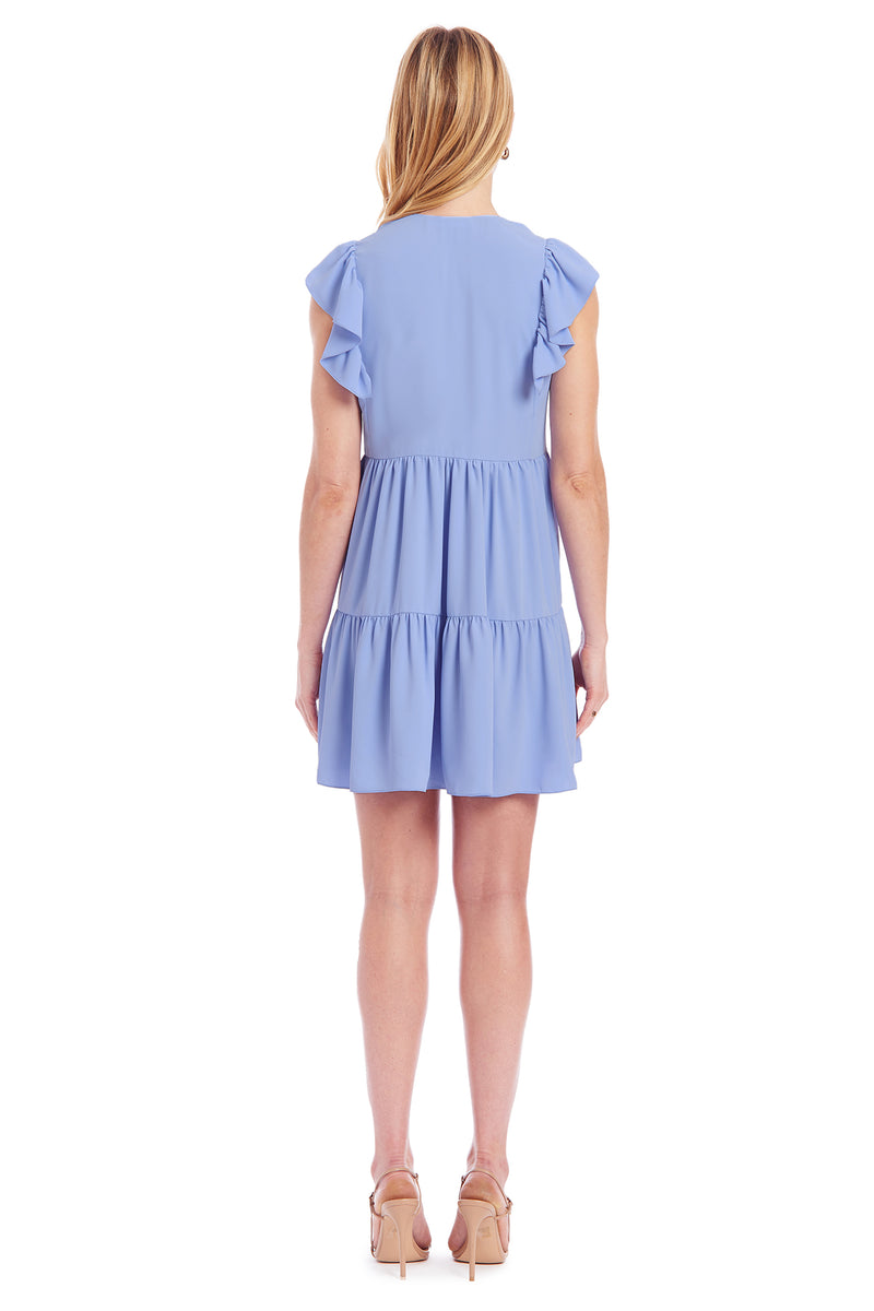 Amanda Uprichard Norma Dress - Light Blue | Women's Dresses