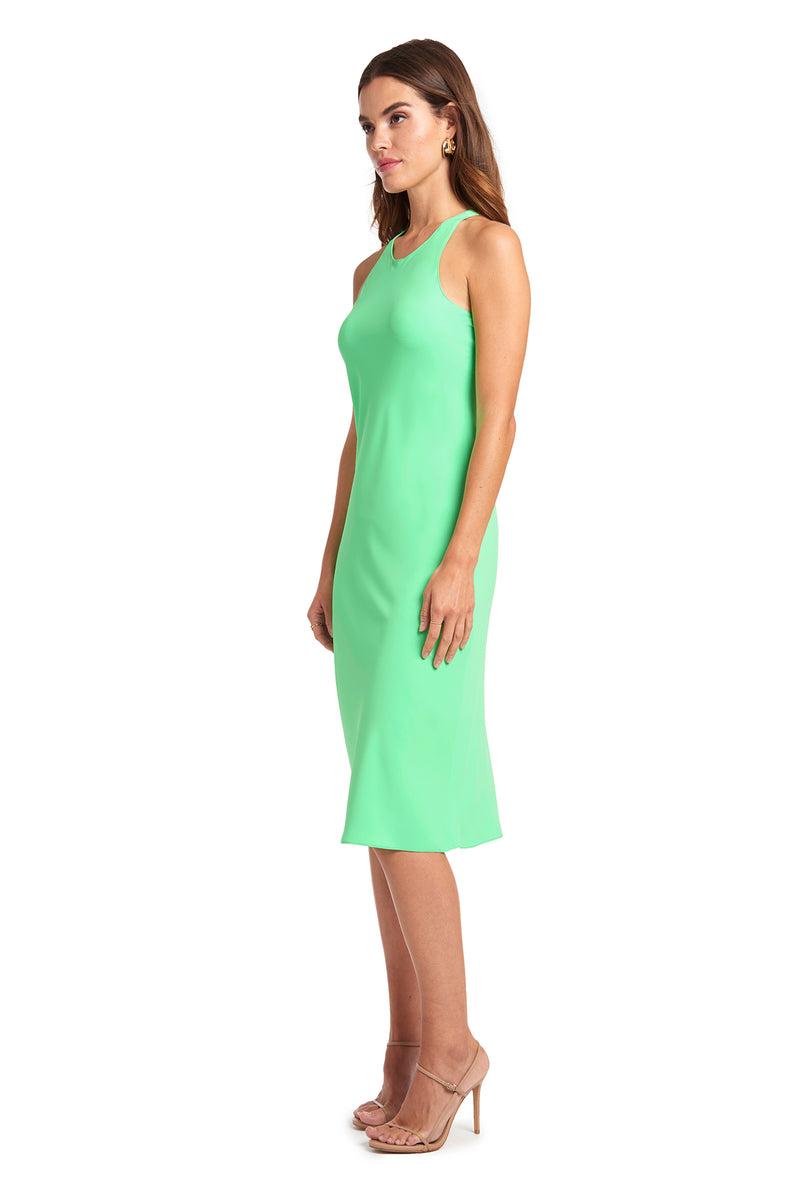 Amanda Uprichard Pasadena Midi - Green | Women's Dresses