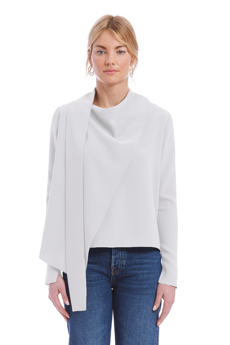 Amanda Uprichard Philippe Top - Ivory | Women's Tops