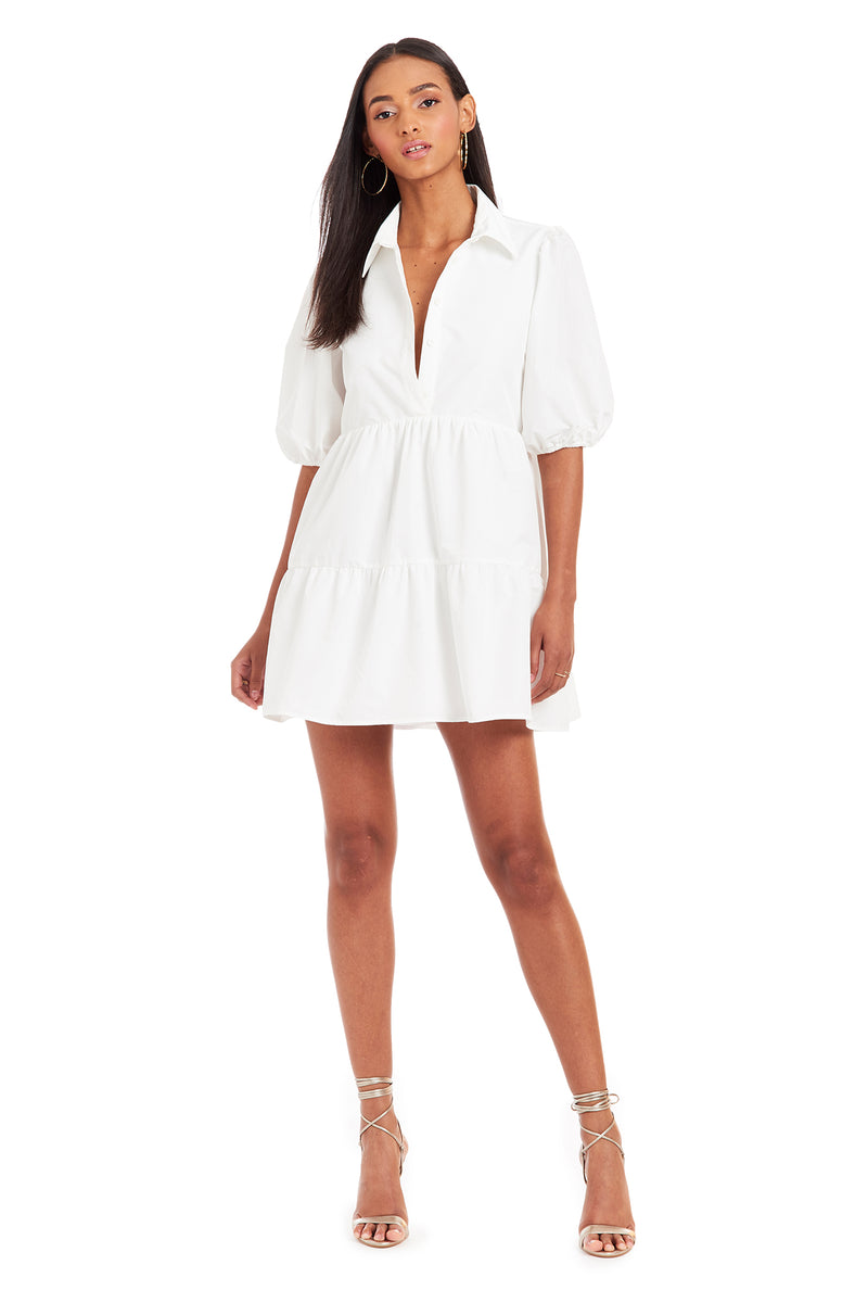Amanda Uprichard Pierre Dress - White | Women's Dresses