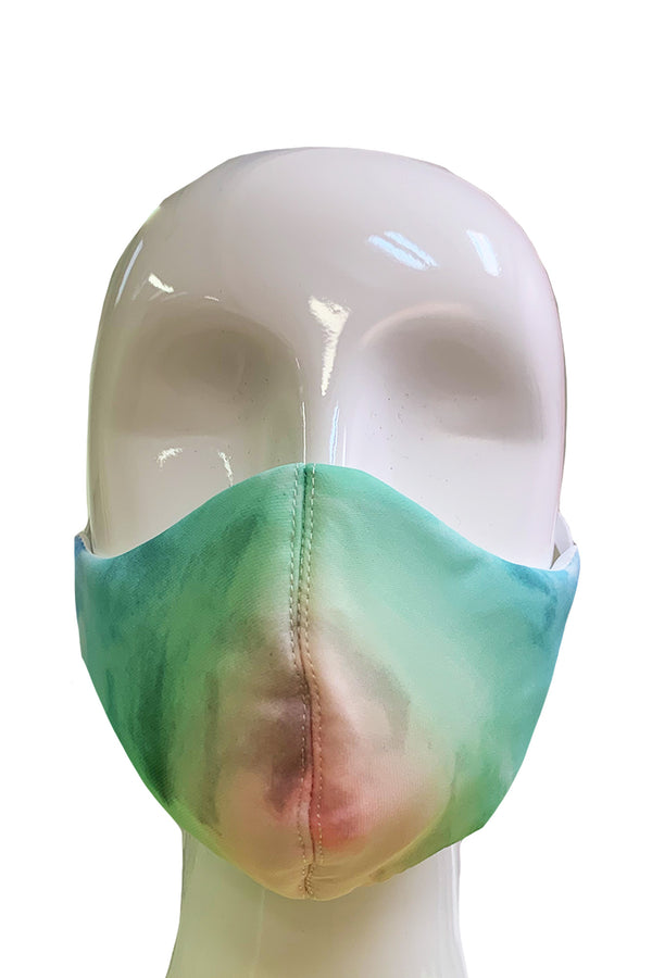 Fashion Face Mask - Rainbow Tie Dye