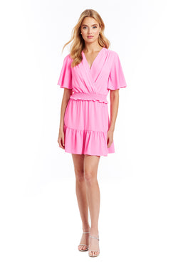 Amanda Uprichard Renata Dress - Pink | Women's Dresses