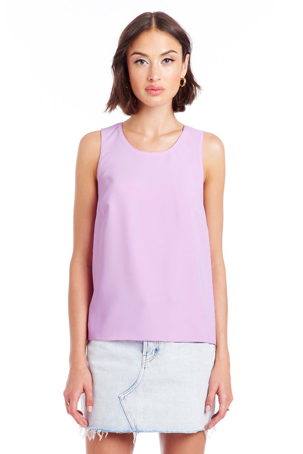 Amanda Uprichard Robyn Top - Purple | Women's Tops