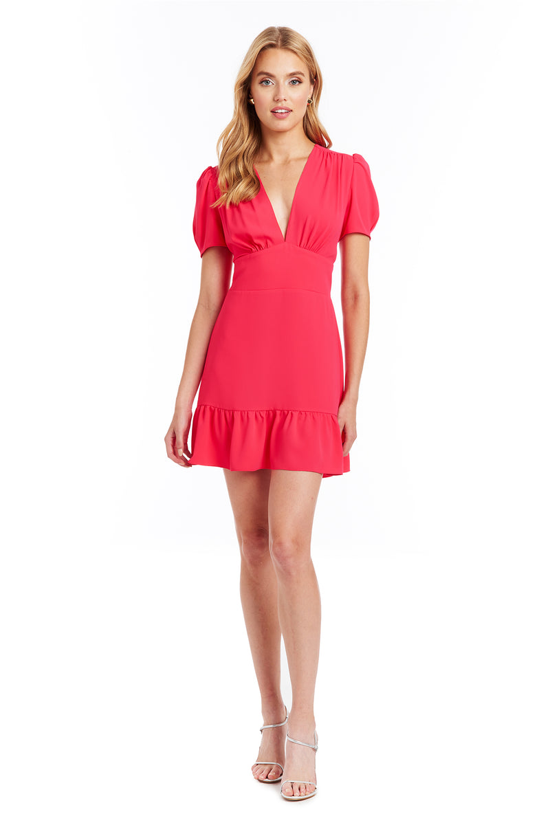 Amanda Uprichard Rosen Dress - Begonia | Women's Dresses
