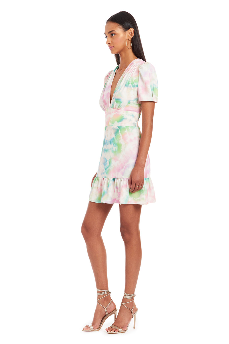 Amanda Uprichard Rosen Dress - Tie Dye | Women's Dresses