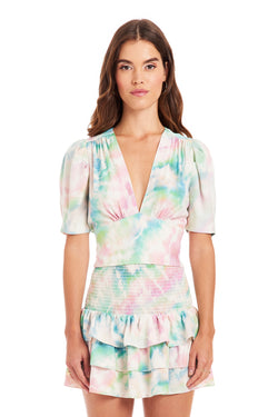 Amanda Uprichard Rosen Top - Tie Dye | Women's Tops