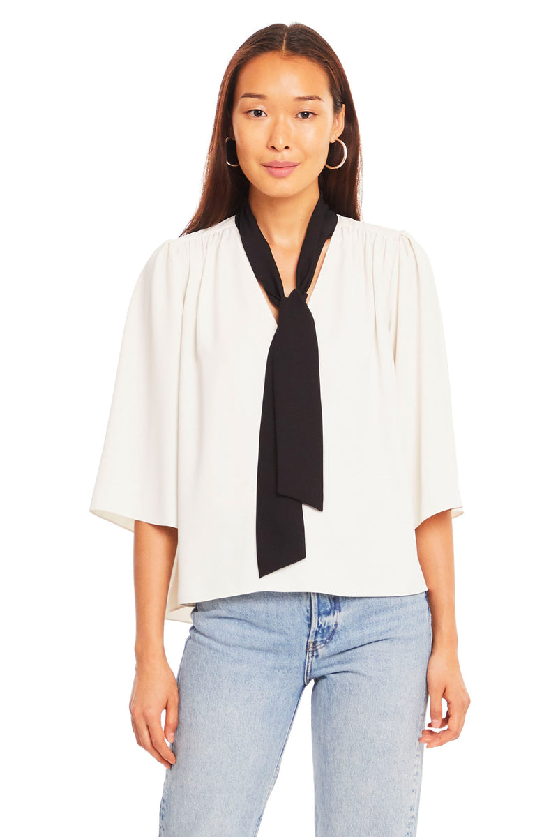 Amanda Uprichard Rosslyn Top - White | Women's Tops