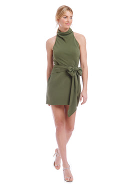 Amanda Uprichard  Sandrine Dress - Green | Women's Dresses