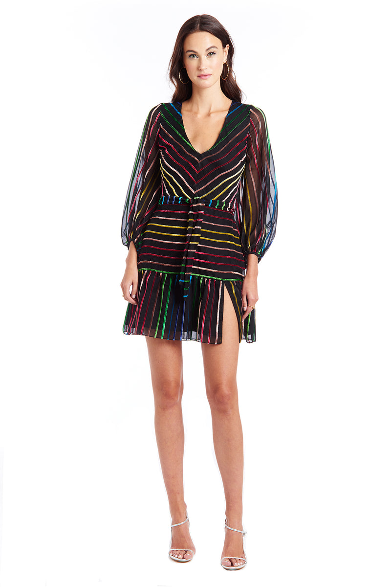 Amanda Uprichard Selene Dress - Rainbow Multi | Women's Dresses