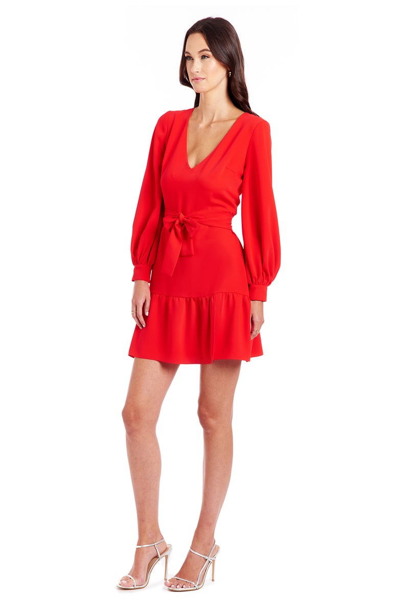 Amanda Uprichard Selene Dress - Red | Women's Dresses
