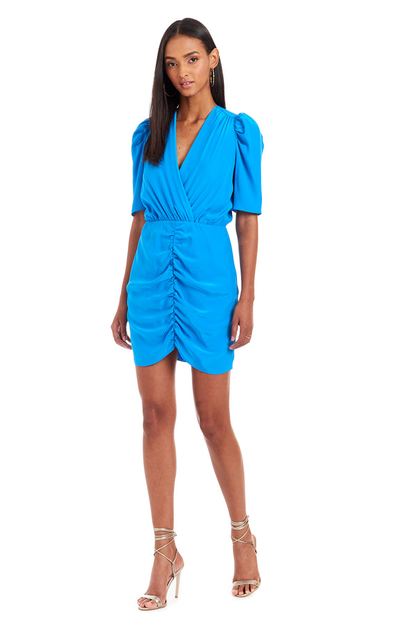 Amanda Uprichard Sheena Dress - Blue | Women's Dresses
