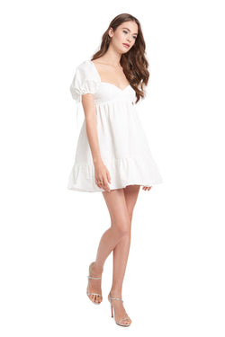 Amanda Uprichard Sicily Dress - White | Women's Dresses