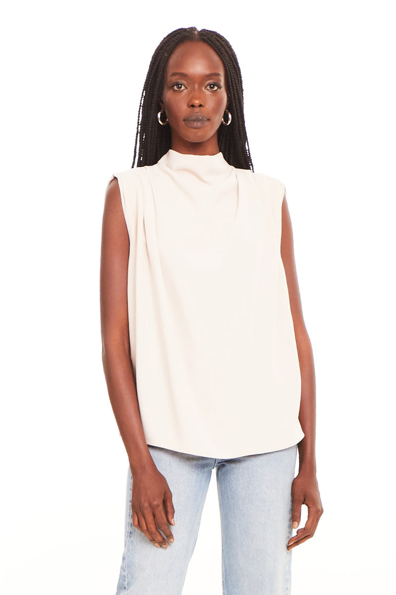 Sleeveless Fabienne Top