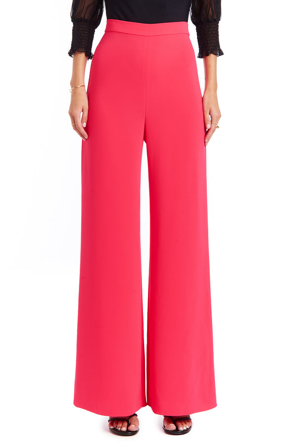 Amanda Uprichard Spenser Pants - Pink | Women's Bottoms