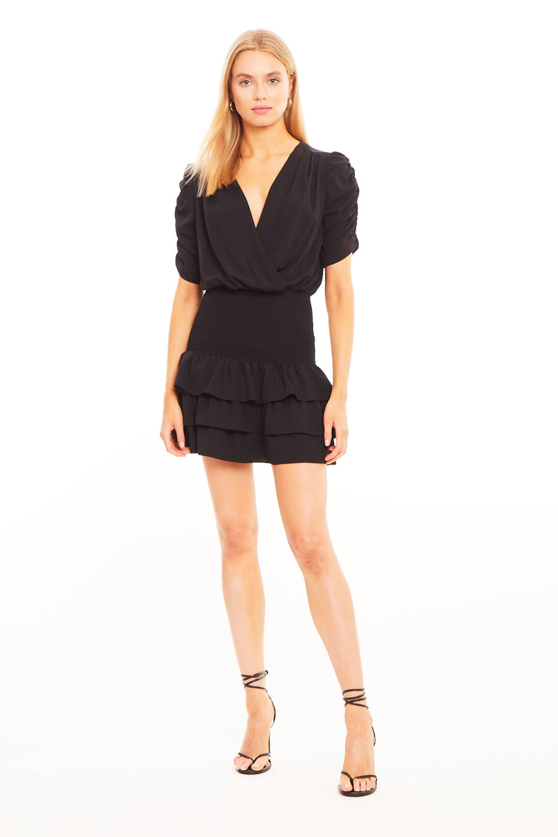 Amanda Uprichard Tabby Dress- Black  | Women's Dresses
