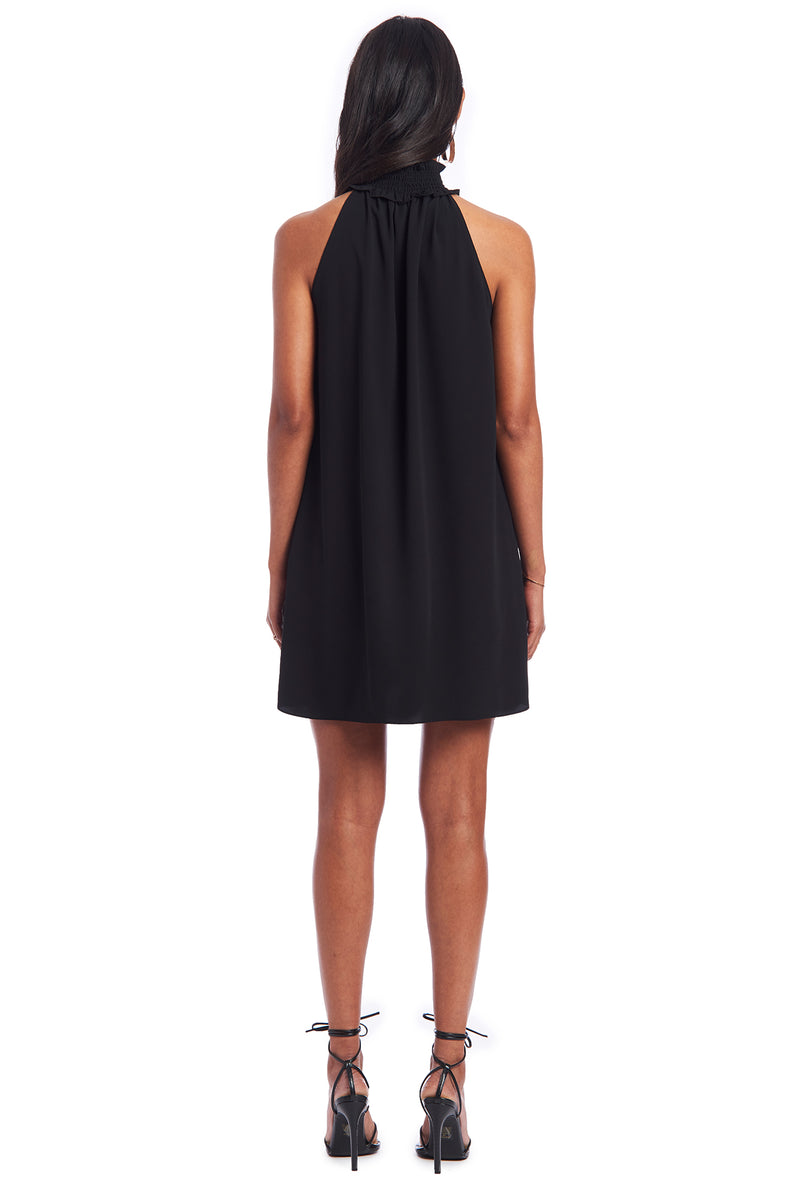 Amanda Uprichard Talita Dress- Black | Women's Dresses