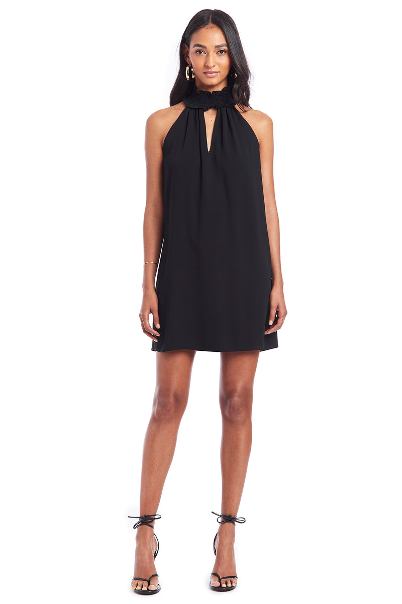 Amanda Uprichard Talita Dress - Black | Women's Dresses