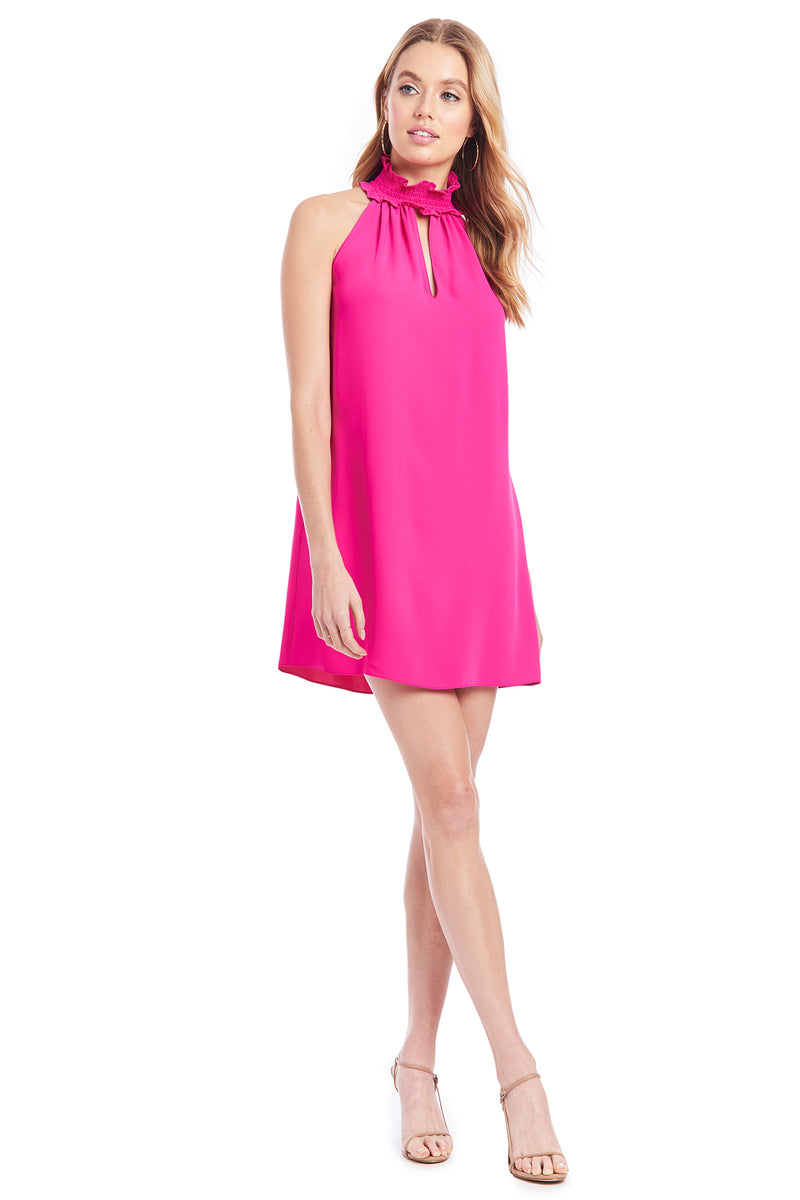 Amanda Uprichard Talita Dress - Hot Pink | Women's Dresses